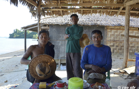 Moken Boulder Bay Eco Resort Mergui Archipel Myanmar