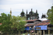 Alte Moschee in Mawlamyaing, Myanmar