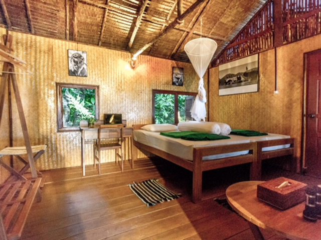 Standard Bungalow Boulder Bay Eco Resort Mergui Archipel Myanmar