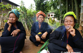 PaO-Frauen Inle-See
