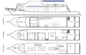 Mergui Princess I Deckplan